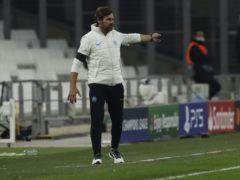 Andre Villas-Boas is preparing his Marseille side to face Manchester City (Daniel Cole/AP)