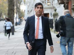 Rishi Sunak has tried to ease concerns about financial services after the Brexit trade deal (Yui Mok/PA)