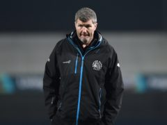 Rob Baxter's Exeter have been forced to call off their weekend game against Toulouse (Simon Galloway/PA)