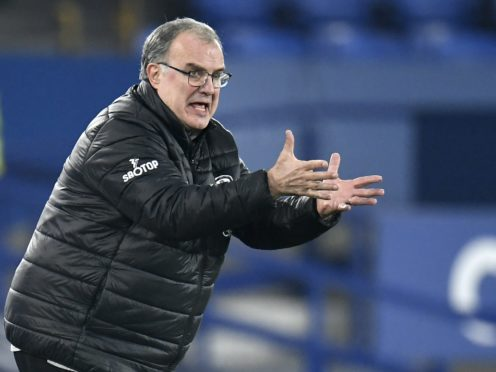 Marcelo Bielsa will demand another high-octane display from Leeds against Chelsea (Peter Powell/PA)