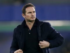 Frank Lampard, pictured, has insisted he will not tempt fate by comparing the Chelsea team he manages to the side he helped win the 2012 Champions League as a player (Matthew Childs/PA)