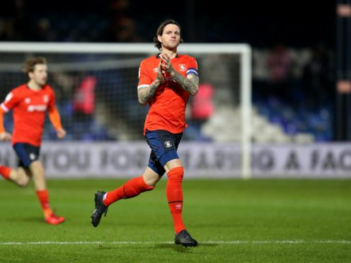 Glen Rea will be absent for Luton's clash with Bournemouth (Andrew Matthews/PA)