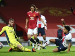 Marquinhos' winner for Paris St Germain has made life difficult for United (Martin Rickett/PA)