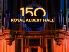The Royal Albert Hall in London, as it prepares to celebrate its 150th anniversary (Matt Crossick/PA)