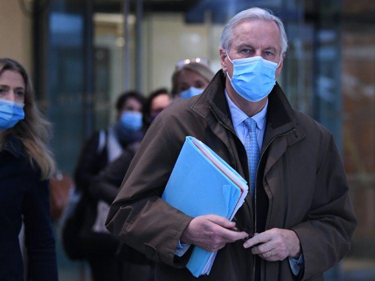 EU's chief negotiator Michel Barnier (Stefan Rousseau/PA)