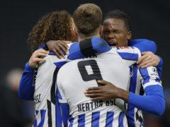 Hertha Berlin claimed local bragging rights (Odd Andersen/AP)