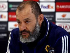 Wolves manager Nuno Espirito Santo has doubled down on his criticism of referee Lee Mason after the 2-1 defeat at Burnley (Tim Goode/PA)