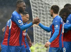 Crystal Palace's Christian Benteke, left, has been back among the goals this month (Rui Vieira/PA)