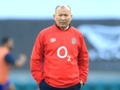 Eddie Jones reacted angrily to criticism about his team's style (Adam Davy/PA)