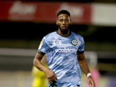 Jamille Matt has shaken off a thigh injury scare to be fit for Forest Green (Richard Sellers/PA)