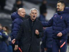 Jose Mourinho's men top the Premier League (Paul Childs/PA)