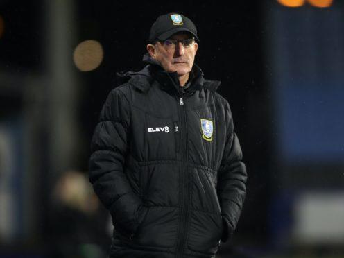 Sheffield Wednesday manager Tony Pulis (Martin Rickett/PA)