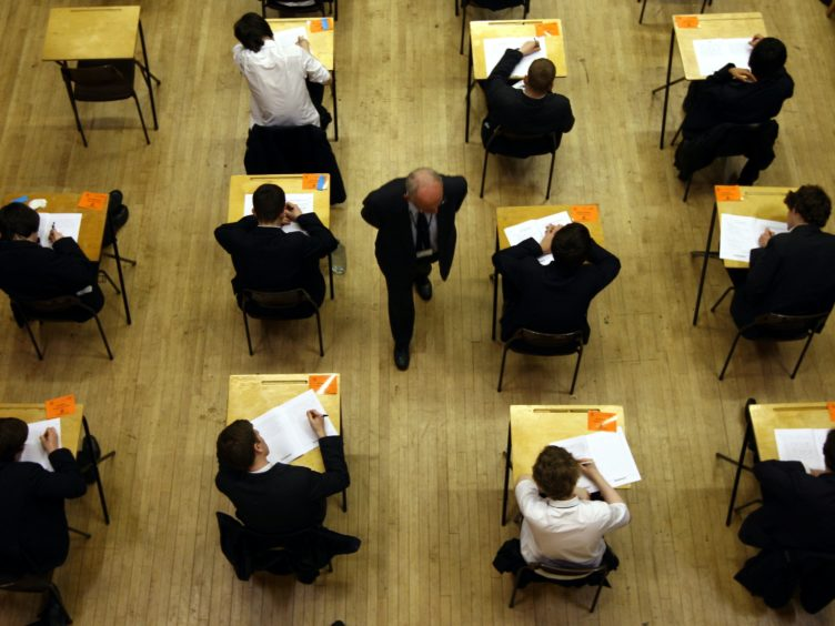 The Government was right to cancel exams this year, the report said (David Jones/PA)