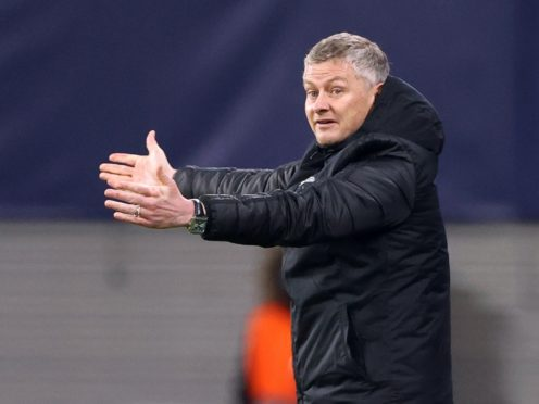 Ole Gunnar Solskjaer held his hands up for Manchester United's defeat (PA Wire via DPA)