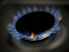 A gas ring on a home cooker (Lauren Hurley/PA)
