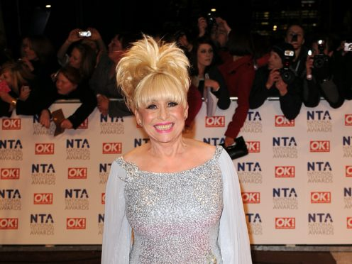 Dame Barbara Windsor's husband said he has been 'completely overwhelmed' by the response to her death (Ian West/PA)