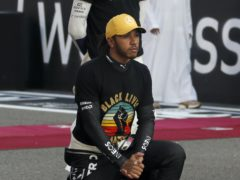 Lewis Hamilton was driven on to World Championship success by the Black Lives Matter movement (Hamad Mohammed, Pool via AP)