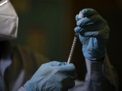 Staff at a Cardiff mass vaccination centre have tested positive for Covid-19 (Aaron Chown/PA).