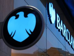 Barclays has been fined £26 million for failures in relation to treatment of consumer credit customers who fell into arrears or experienced financial difficulties, the Financial Conduct Authority said (Dominic Lipinski/PA)