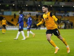 Pedro Neto scored a late winner as Wolves edged Chelsea (Tim Keeton/PA)
