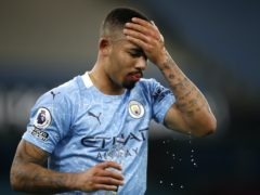 Gabriel Jesus is self-isolating (Clive Brunskill/PA)