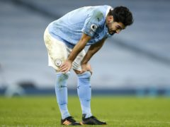 Manchester City were denied victory despite Ilkay Gundogan's strike (Clive Brunskill/PA)