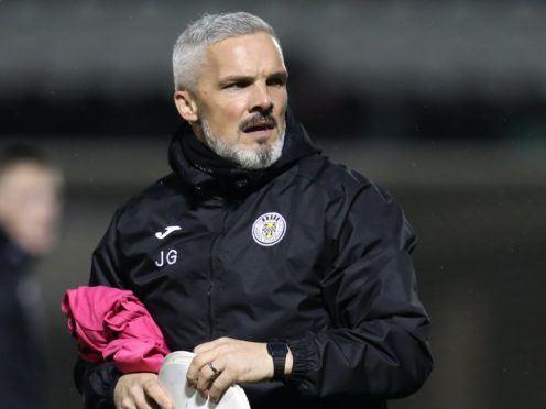 St Mirren manager Jim Goodwin admits his side missed Jake Doyle-Hayes against Hibs (Andrew Milligan/PA)