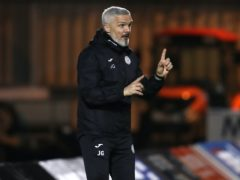 St Mirren manager Jim Goodwin is looking for bravery from officials against Rangers (Andrew Milligan/PA)