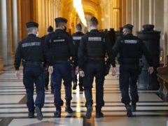 French gendarmes (AP)