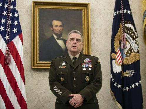 Army General Mark Milley, chairman of the Joint Chiefs of Staff (Alex Brandon/AP)