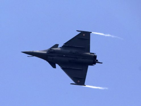 A French-made Rafale fighter jet (Manish Swarup/AP)