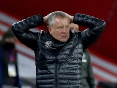 Sheffield United manager Chris Wilder is confident his team can fight its way out of Premier League trouble (Rui Vieira/PA)