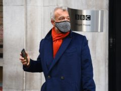Graham Norton leaves Wogan House in London after broadcasting his final BBC Radio 2 programme (Kirsty O'Connor/PA)