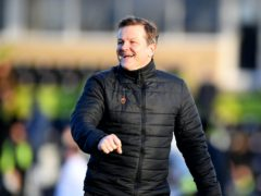 Forest Green manager Mark Cooper (Simon Galloway/PA)