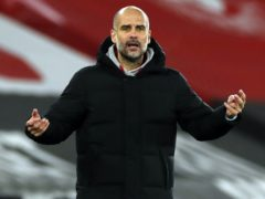 "Pep Guardiola labelled the win ""incredibly important"" (Paul Childs/PA)"