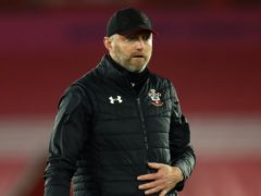 Southampton manager Ralph Hasenhuttl admitted squad management has been a challenge during the festive period (Naomi Baker/PA)