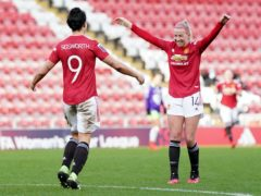 Manchester United consolidated their lead in the WSL (Zac Goodwin/PA)