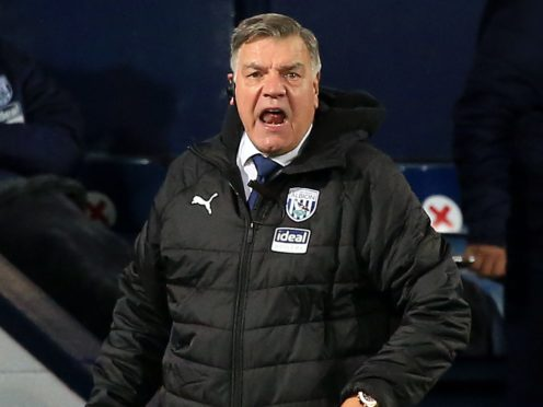 Sam Allardyce's West Brom are 19th in the Premier League table (Lindsey Parnaby/PA).