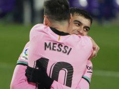Barcelona's Lionel Messi (Cesar Manso/AP)