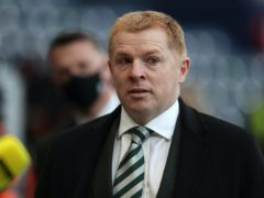 Celtic manager Neil Lennon, pictured, has paid tribute to Jim McLean (Andrew Milligan/PA)