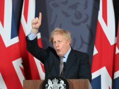 Prime Minister Boris Johnson (Paul Grover/Daily Telegraph/PA)