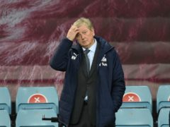 Roy Hodgson was hugely disappointed by Crystal Palace's display against Aston Villa (Rui Vieira/PA)