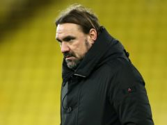 Norwich manager Daniel Farke frustrated by draw with QPR (Bradley Collyer/PA)