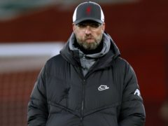 Liverpool manager Jurgen Klopp insists he is not angry with his players for failing to beat West Brom (Clive Brunskill/PA).