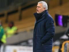 Tottenham manager Jose Mourinho criticised his team's lack of attacking intent (Lindsay Parnaby/PA).