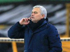Tottenham manager Jose Mourinho is due to take his Premier League giants to non-league Marine in the FA Cup third round (Lindsay Parnaby/PA)