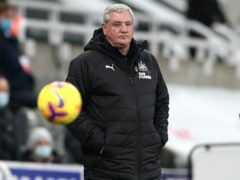 Newcastle head coach Steve Bruce celebrated his 60th birthday a day early with a 0-0 draw against Liverpool (Scott Heppell/PA)