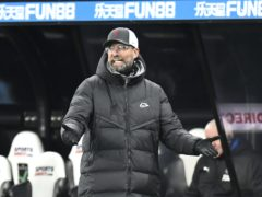 Liverpool manager Jurgen Klopp saw his side squander chances as they drew 0-0 at Newcastle (Peter Powell/PA)