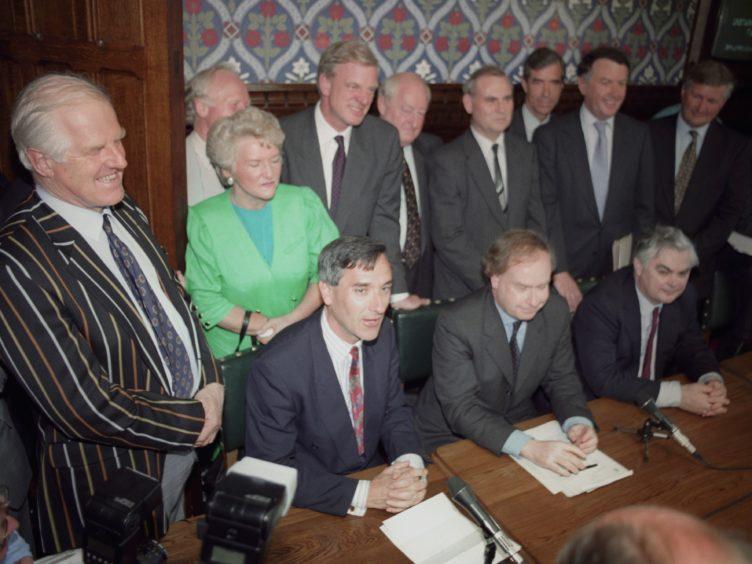 John Redwood launches his 1995 leadership challenge (PA)