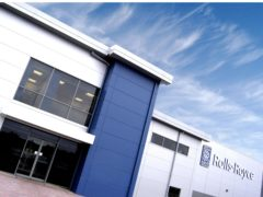 Rolls-Royce's Hucknall site, one of those affected by the company announcement (Rolls-Royce/PA)